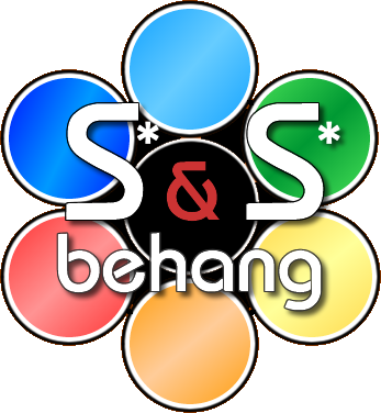 Logo S en S behang